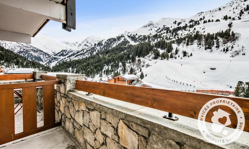 Vacances en montagne Studio 4 personnes (22m²) - Résidence les Sentiers du Tueda - Maeva Home - Méribel-Mottaret - Extérieur hiver