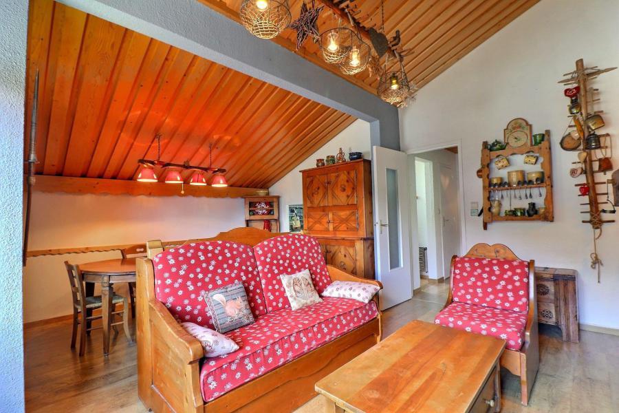 Location au ski Appartement 2 pièces cabine 6 personnes (MTV036) - Résidence Mont Vallon - Méribel-Mottaret - Séjour