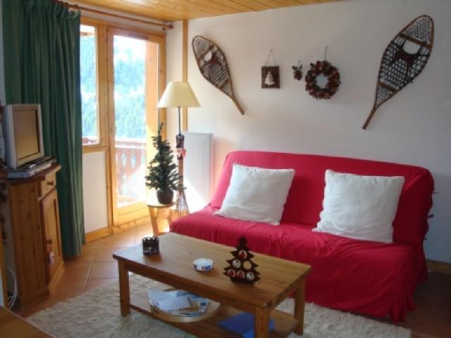 Ski verhuur Appartement 3 kamers 5 personen (028) - Résidence Moraine - Méribel-Mottaret
