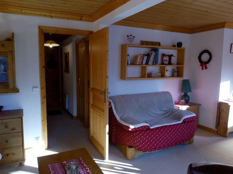 Location au ski Appartement 3 pièces 7 personnes (021) - Résidence Moraine - Méribel-Mottaret - Banquette