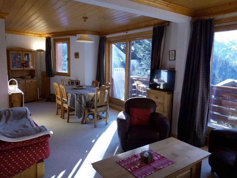 Location au ski Appartement 3 pièces 7 personnes (021) - Résidence Moraine - Méribel-Mottaret - Canapé