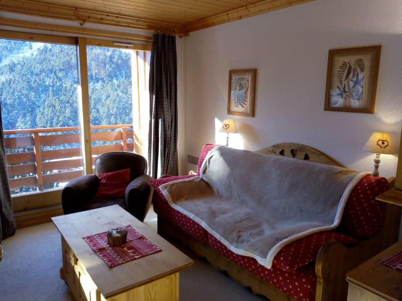 Location au ski Appartement 3 pièces 7 personnes (021) - Résidence Moraine - Méribel-Mottaret - Coin séjour