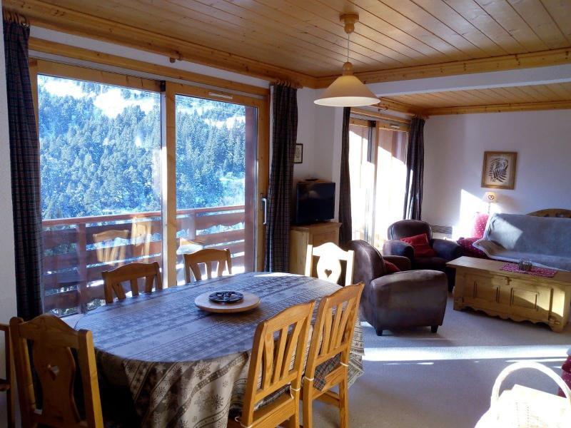 Location au ski Appartement 3 pièces 7 personnes (021) - Résidence Moraine - Méribel-Mottaret - Salle à manger