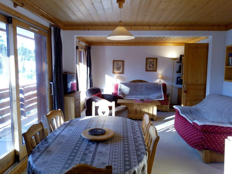 Location au ski Appartement 3 pièces 7 personnes (021) - Résidence Moraine - Méribel-Mottaret - Table