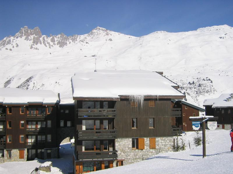 Location au ski Résidence Nantchu - Méribel-Mottaret - Extérieur hiver