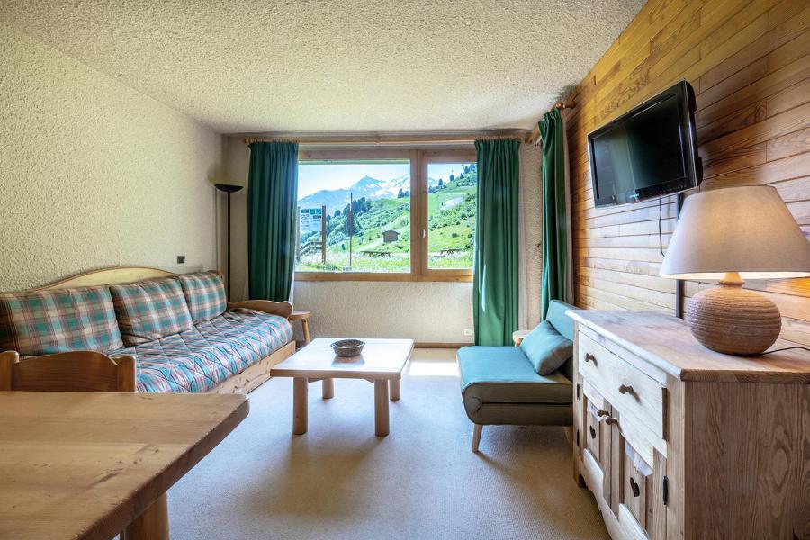 Ski verhuur Appartement 2 kamers 5 personen (018) - Résidence Nantchu - Méribel-Mottaret