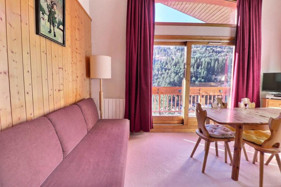 Location au ski Appartement duplex 4 pièces 6 personnes (12) - Résidence Olympie II - Méribel-Mottaret - Séjour