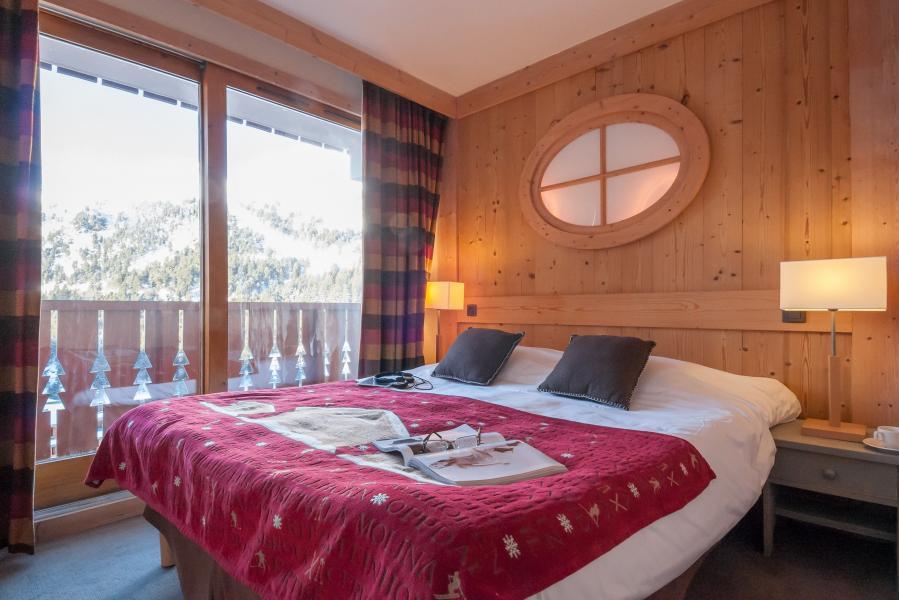 Ski verhuur Résidence P&V Premium les Crêts - Méribel-Mottaret - 2 persoons bed