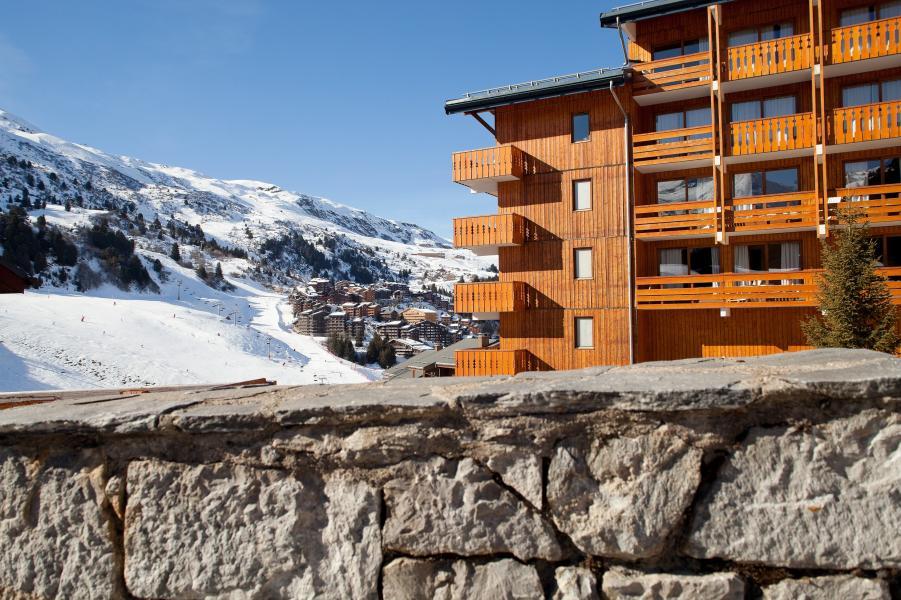 Alquiler al esquí Résidence P&V Premium les Crêts - Méribel-Mottaret - Invierno
