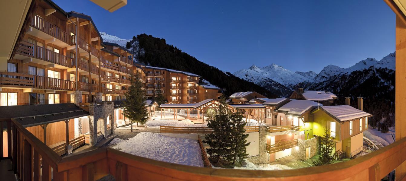 Vakantie in de bergen Résidence P&V Premium les Crêts - Méribel-Mottaret - Buiten winter