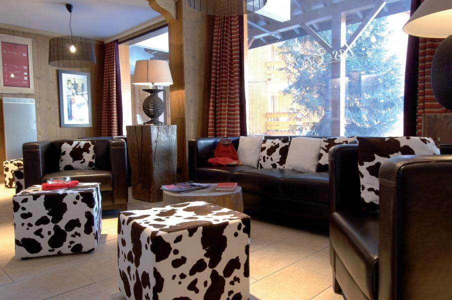Alquiler al esquí Résidence P&V Premium les Crêts - Méribel-Mottaret - Recepción