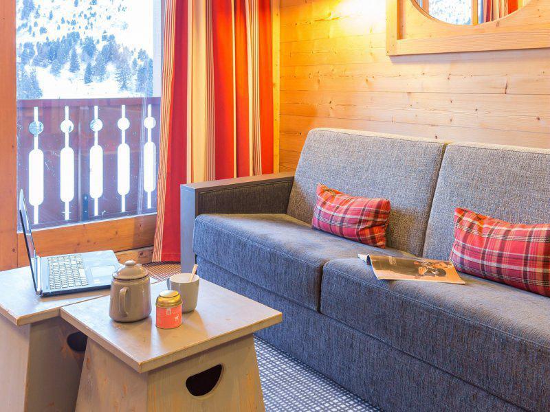 Ski verhuur Appartement 2 kamers 2-4 personen - Résidence P&V Premium les Crêts - Méribel-Mottaret