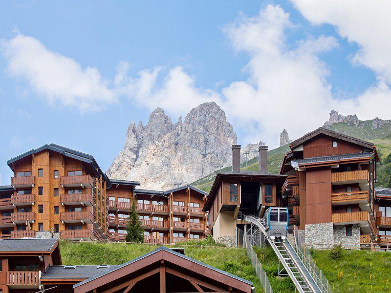 Location au ski Résidence P&V Premium les Crêts - Méribel-Mottaret
