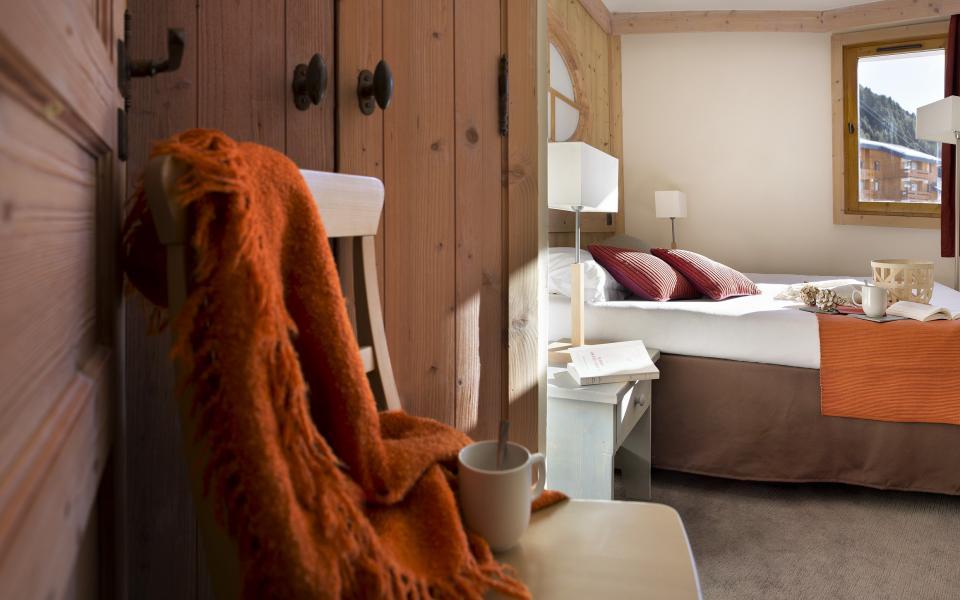 Alquiler al esquí Résidence P&V Premium les Crêts - Méribel-Mottaret - Habitación