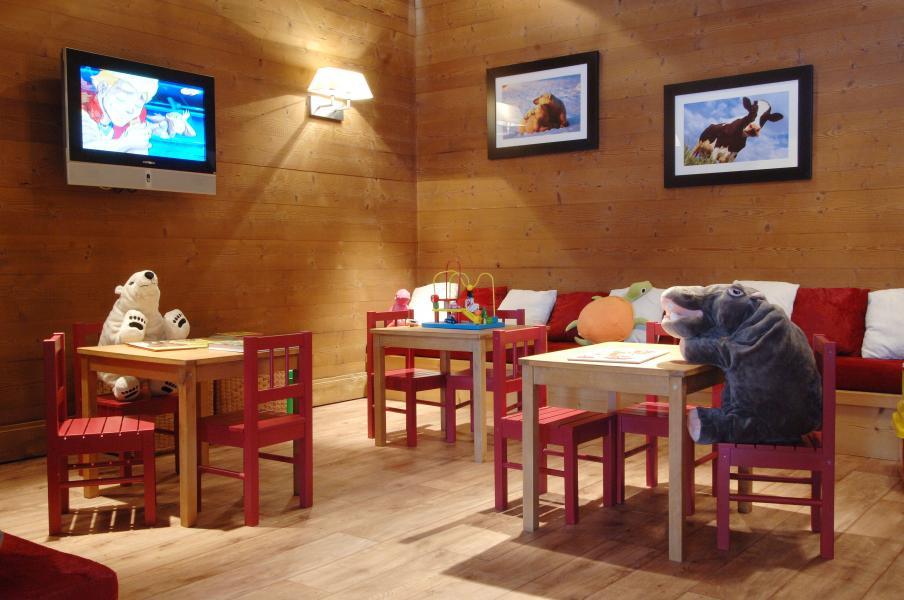 Location au ski Résidence P&V Premium les Crêts - Méribel-Mottaret - Jeux