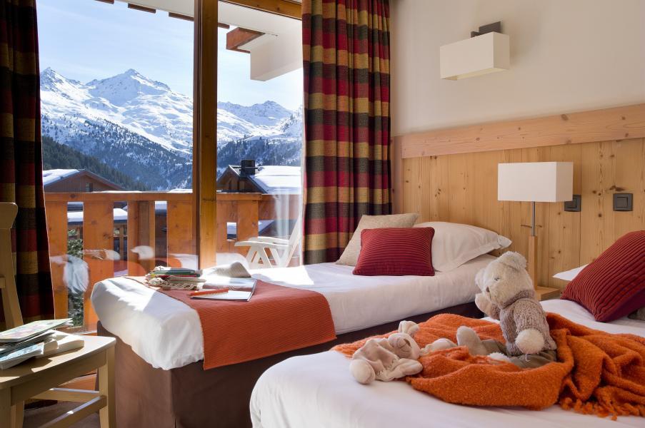 Ski verhuur Résidence P&V Premium les Crêts - Méribel-Mottaret - Kamer