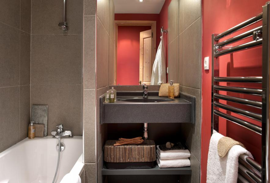 Alquiler al esquí Résidence P&V Premium les Crêts - Méribel-Mottaret - Secador de toallas
