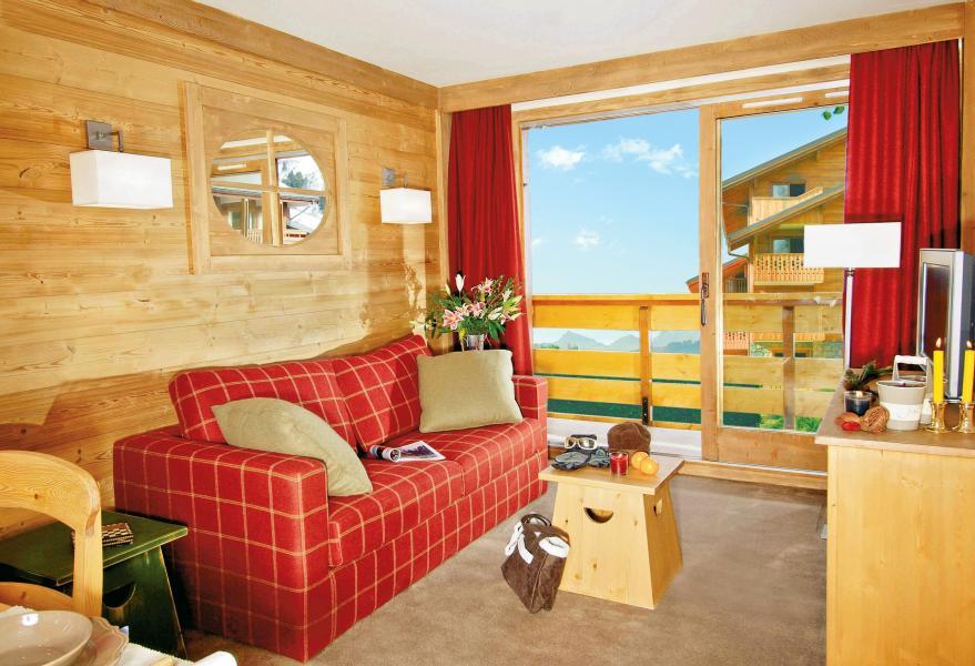 Location au ski Résidence P&V Premium les Crêts - Méribel-Mottaret - Séjour