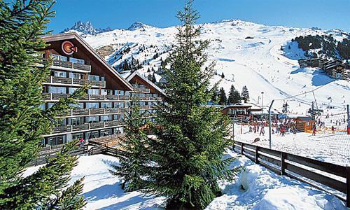 Location au ski Résidence Pierre & Vacances les Bleuets - Méribel-Mottaret - Extérieur hiver
