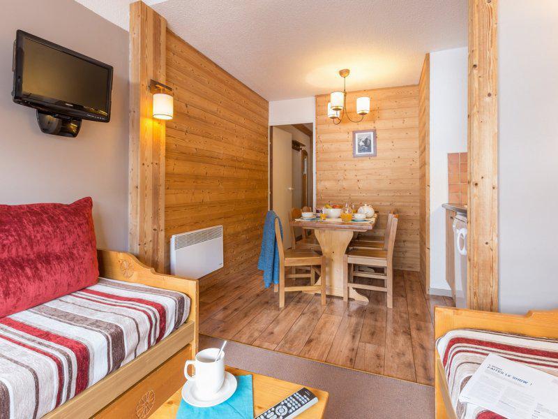 Location au ski Appartement 2 pièces 4-6 personnes - Résidence Pierre & Vacances les Sentiers du Tueda - Méribel-Mottaret