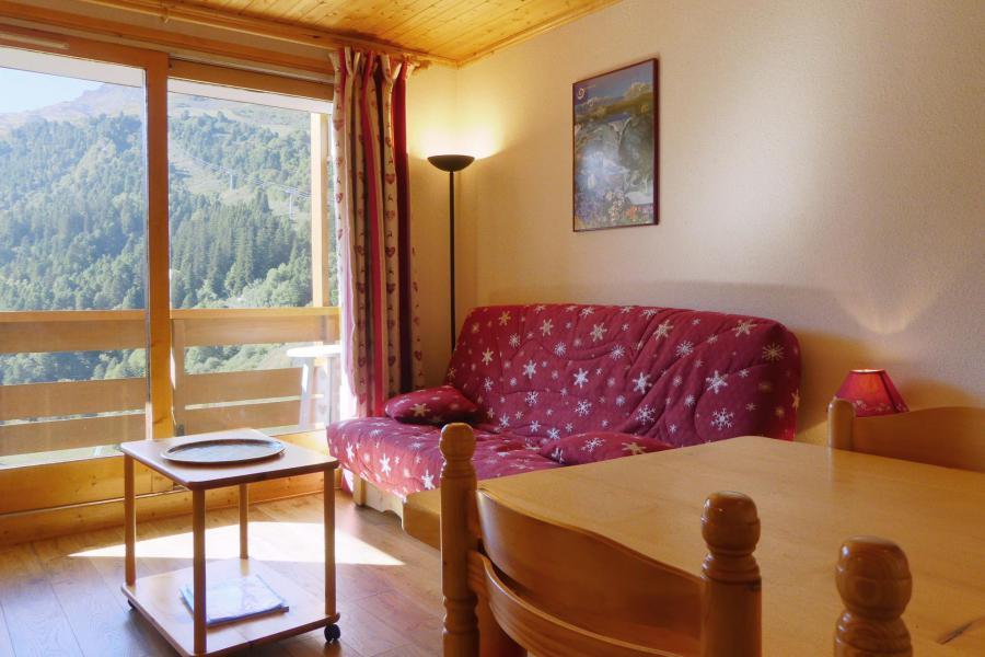 Location au ski Appartement 2 pièces 4 personnes (11) - Résidence Plattières - Méribel-Mottaret - Séjour