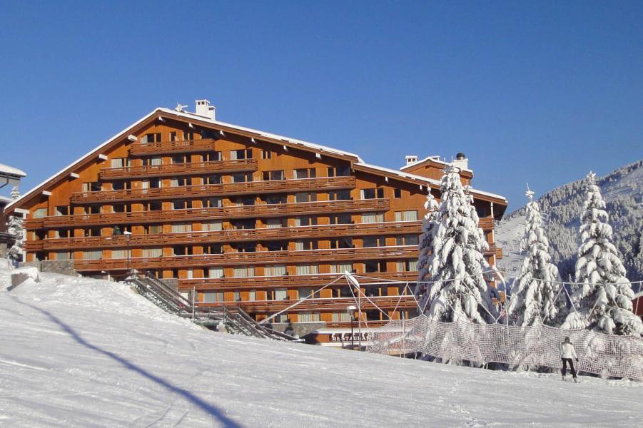 Vacanze in montagna Résidence Plein Soleil - Méribel-Mottaret - Esteriore inverno