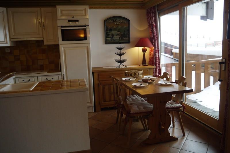 Location au ski Appartement 3 pièces cabine 6 personnes (428) - Residence Pralin - Méribel-Mottaret