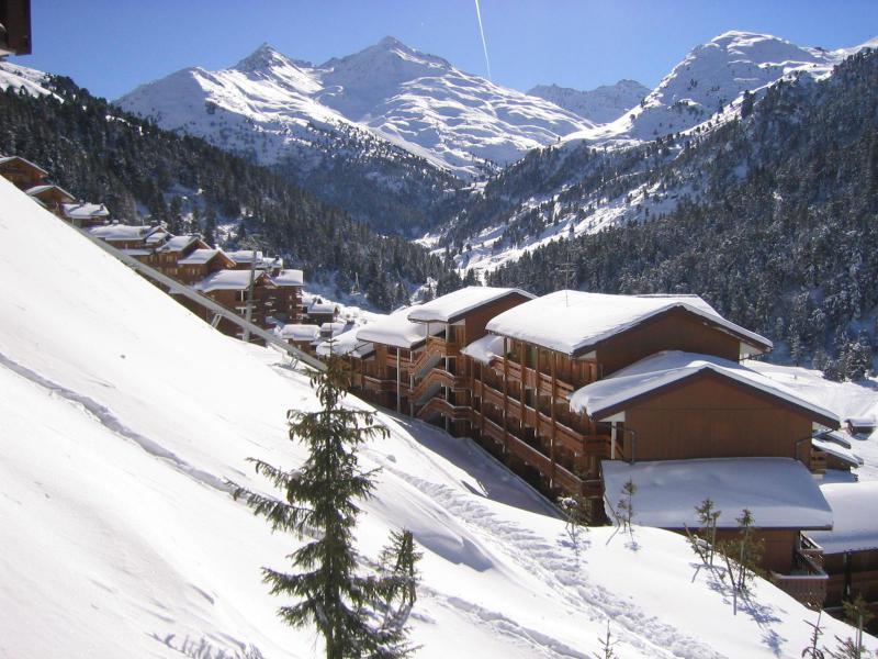 Location au ski Résidence Pralin - Méribel-Mottaret - Extérieur hiver