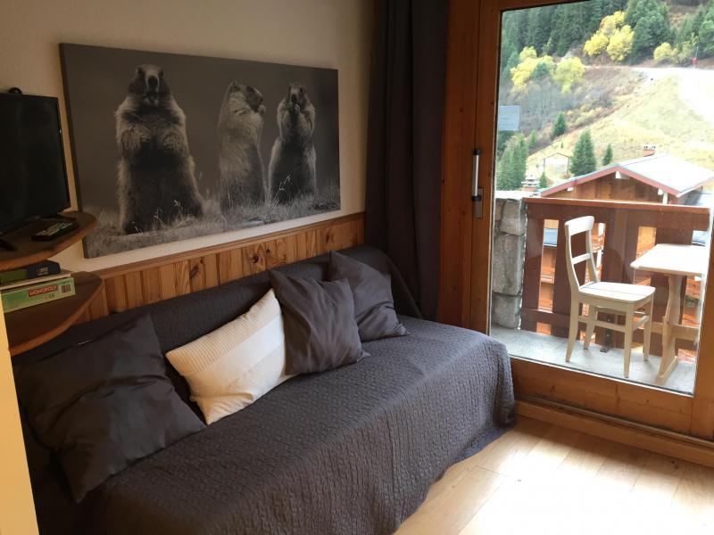 Location au ski Studio coin montagne 4 personnes (815) - Résidence Pralin - Méribel-Mottaret