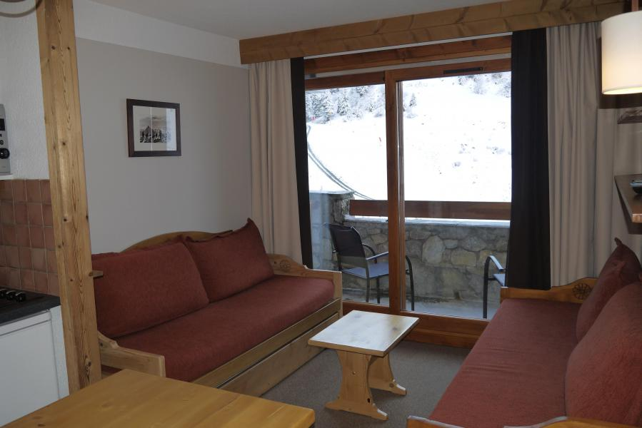 Location au ski Studio 4 personnes (808) - Résidence Pralin - Méribel-Mottaret - Appartement