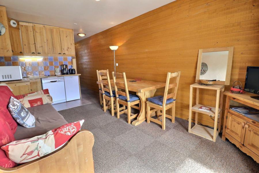 Location au ski Appartement 2 pièces 4 personnes (014) - Résidence Provères - Méribel-Mottaret - Séjour