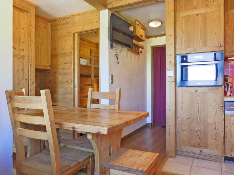 Location au ski Studio 4 personnes (030) - Résidence Roc de Tougne - Méribel-Mottaret - Appartement