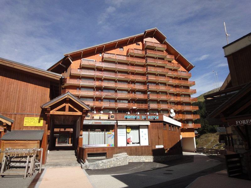 Location au ski Residence Ruitor - Méribel-Mottaret - Extérieur hiver