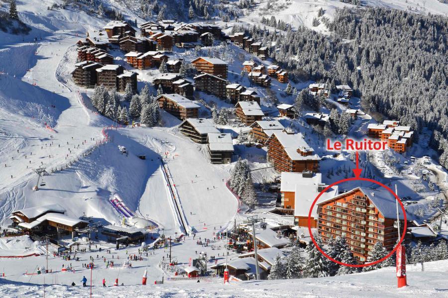 Vacances en montagne Résidence Ruitor - Méribel-Mottaret - Extérieur hiver