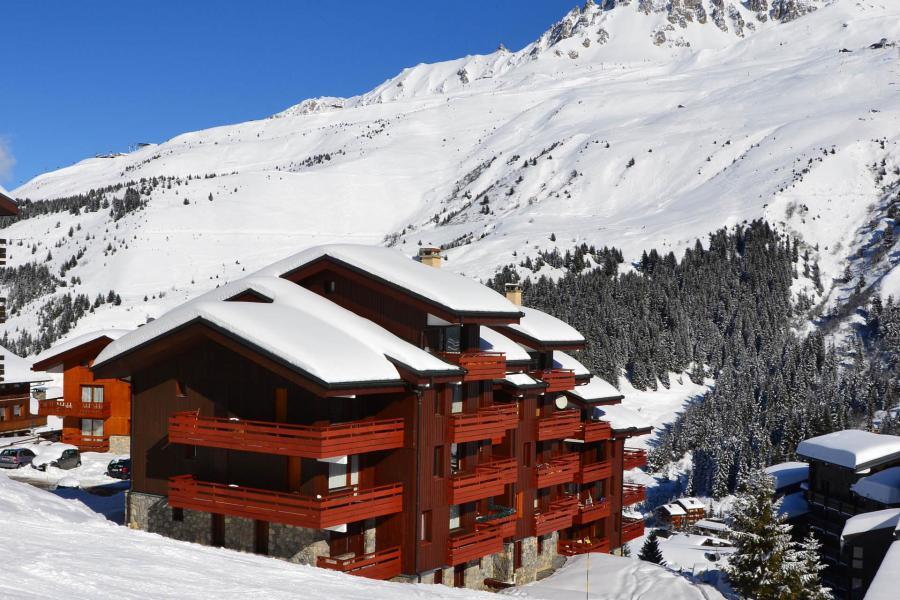 Location au ski Résidence Saulire - Méribel-Mottaret - Extérieur hiver