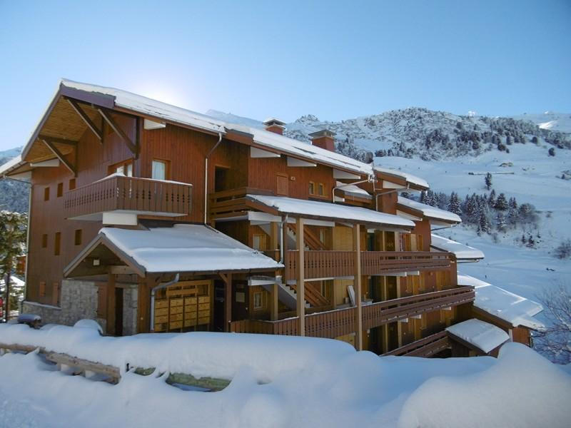 Location au ski Résidence Sérac - Méribel-Mottaret - Extérieur hiver
