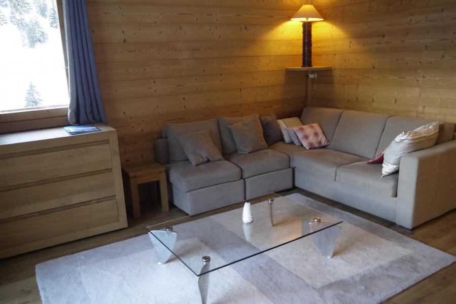 Ski verhuur Appartement 3 kabine kamers 7 personen (007) - Résidence Sérac - Méribel-Mottaret - Zitbank