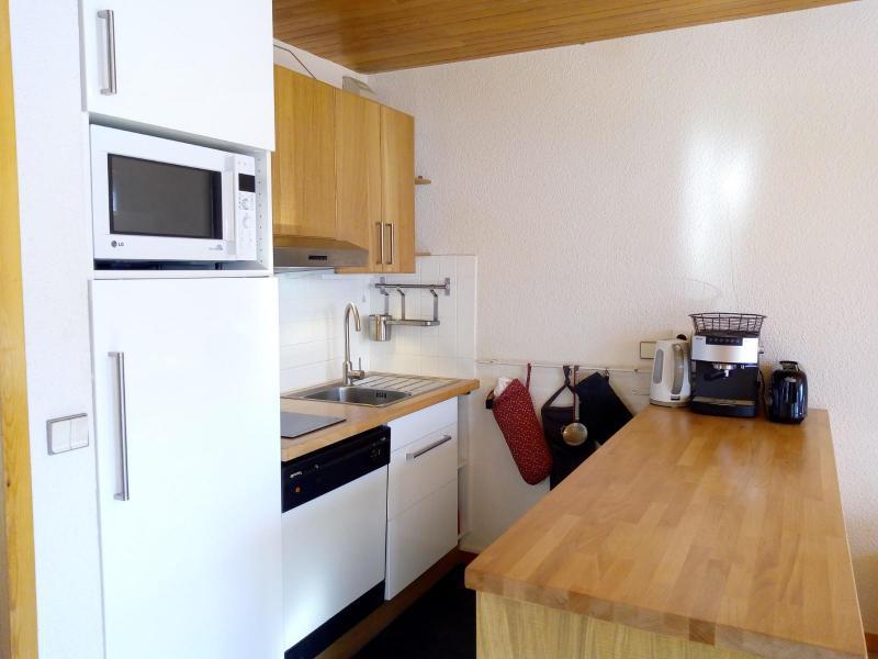 Ski verhuur Appartement 3 kamers 7 personen (002) - Résidence Sérac - Méribel-Mottaret - Appartementen