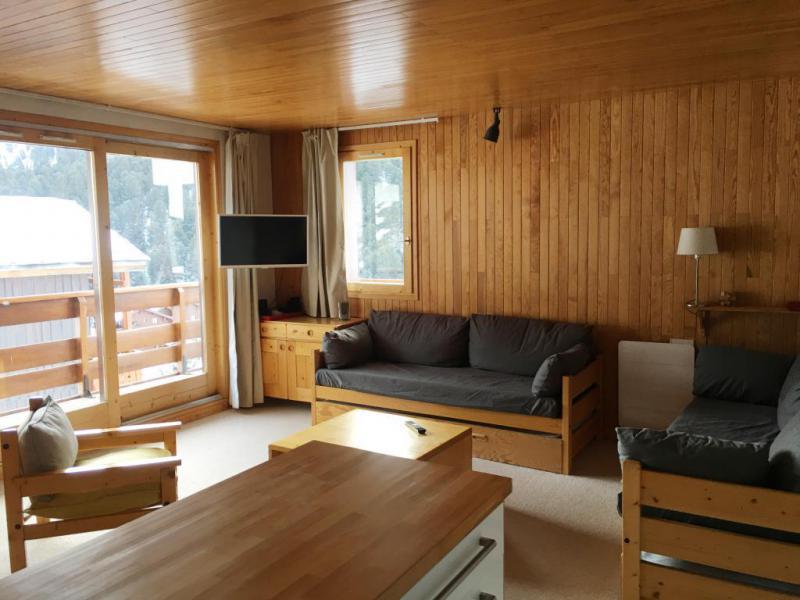 Location au ski Appartement 3 pièces 7 personnes (002) - Résidence Sérac - Méribel-Mottaret - Séjour