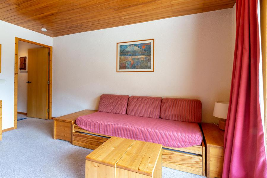 Ski verhuur Appartement 2 kamers 4 personen (010) - Résidence Sherpa - Méribel-Mottaret - Woonkamer