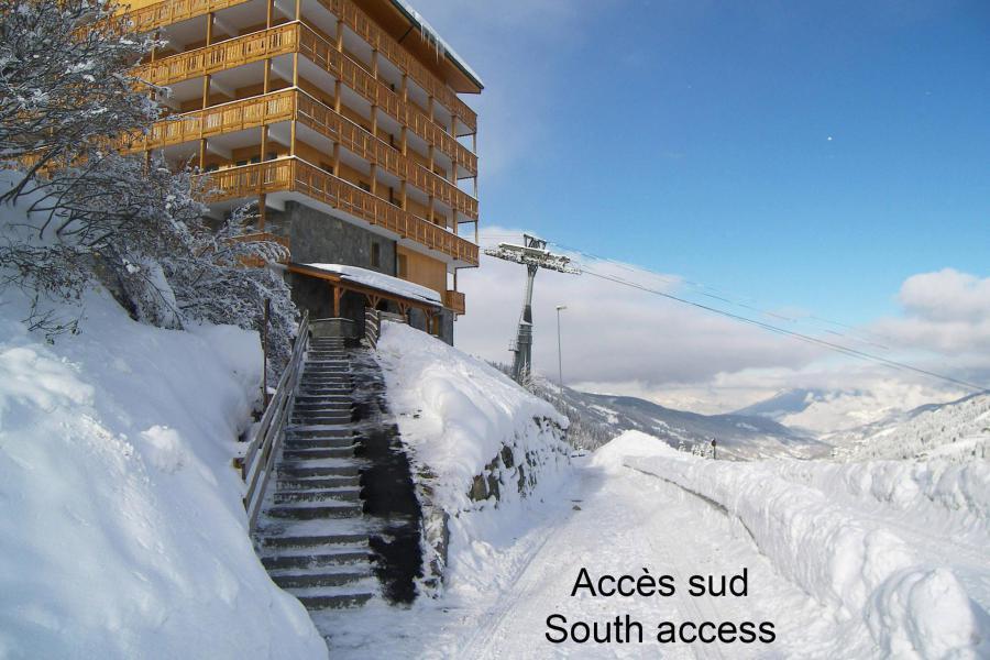 Vacances en montagne Résidence Vanoise - Méribel-Mottaret - Extérieur hiver
