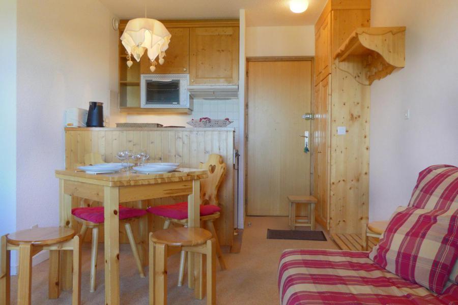 Location au ski Appartement 2 pièces 4 personnes (011) - Résidence Vanoise - Méribel-Mottaret - Intérieur