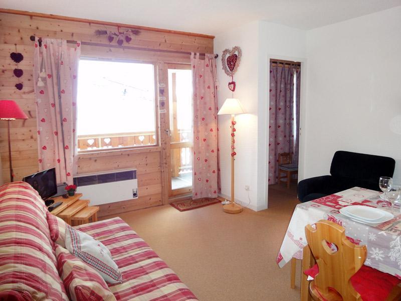 Location au ski Appartement 2 pièces 4 personnes (011) - Résidence Vanoise - Méribel-Mottaret - Séjour