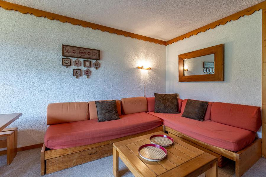 Ski verhuur Appartement 2 kamers 6 personen (007A) - Résidence Verdons - Méribel-Mottaret - Woonkamer