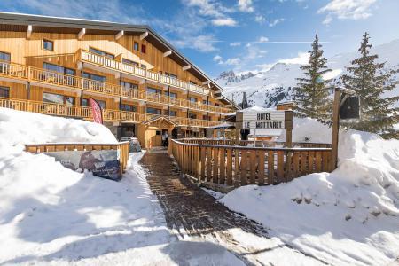 Аренда на лыжном курорте Hôtel le Mottaret - Méribel-Mottaret - зимой под открытым небом