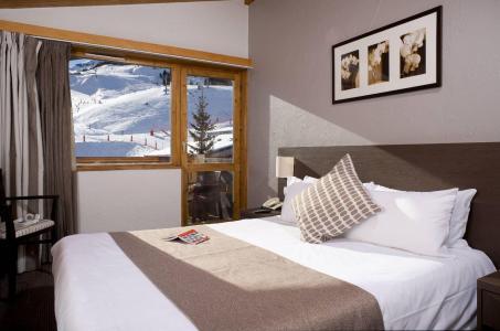 Location au ski Hôtel le Mottaret - Méribel-Mottaret - Lit double