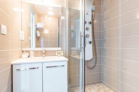 Location au ski Hôtel le Mottaret - Méribel-Mottaret - Salle de bains