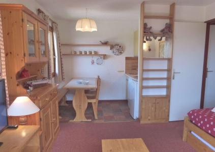 Rent in ski resort 2 room apartment 5 people (LACD02R) - La Résidence le Lac Blanc - Méribel-Mottaret - Dining area