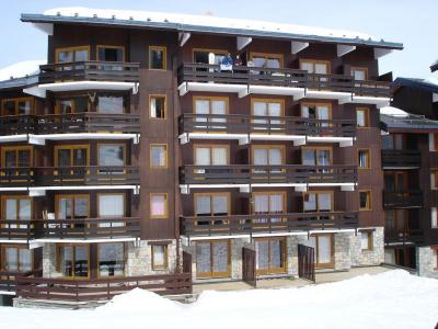 Location Méribel-Mottaret : La Résidence le Lac Blanc hiver