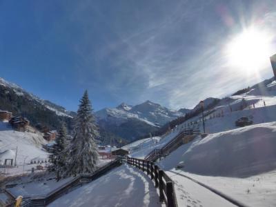 Rent in ski resort Studio 3 people (700R) - La Résidence le Plein Soleil - Méribel-Mottaret
